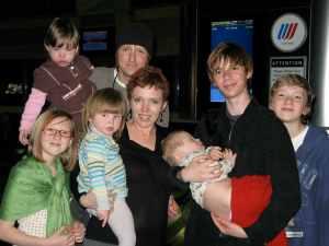John & Tracie Loux Entire Family
